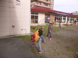 投球練習2